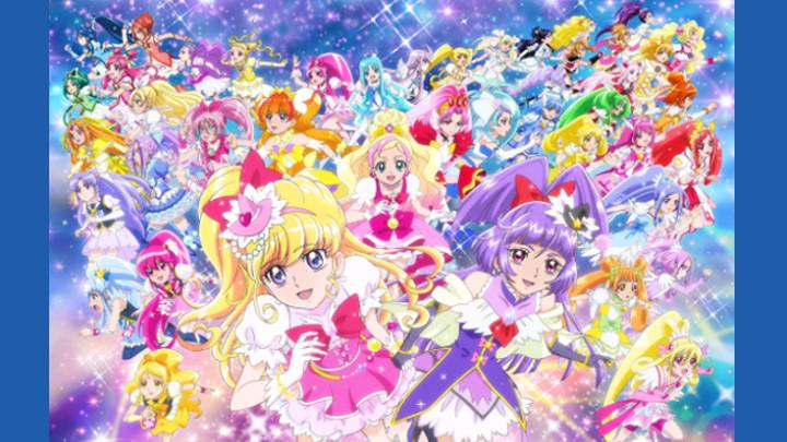 記念すべき20作目のプリキュア劇場版『映画プリキュアオールスターズ みんなで歌う♪ 奇跡の魔法!』がTV初登場!